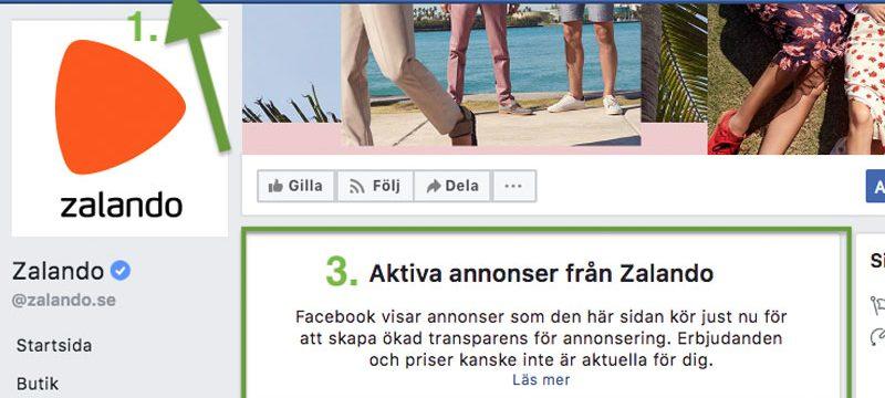 Spionera på alla Facebook annonsöres annonser